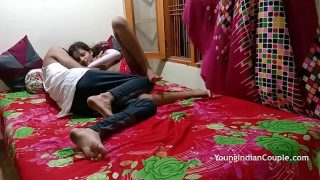 Cute Indian Teen Sucking And Fucking Getting Her Desi Pussy Filled With Cumshot