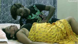 Hot Desi sexy girl first time Dating with boy friend with clear Hindi audio