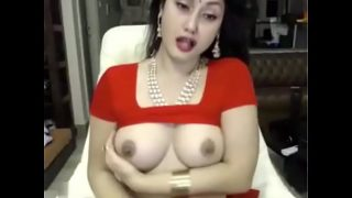 Hot Indian Bhabhi in red dress waiting for her boy friend